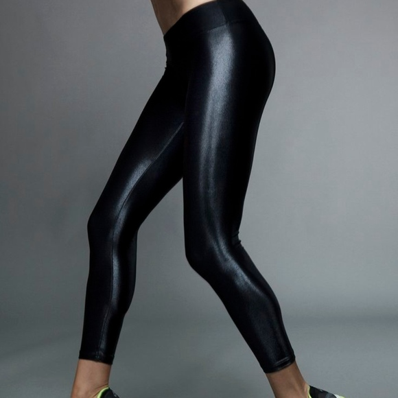 9b8b084760150 Koral Pants | Activewear Lustrous Shiny Athletic Leggings | Poshmark